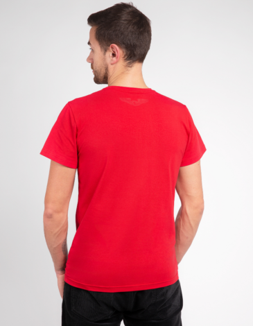 Men's T-Shirt Must-Have. Color red. .