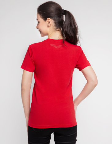 Women's T-Shirt Must-Have. Color red. 6.