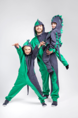 Rompers Dragon. Pajamas: unisex, well suited for both boys and girls.