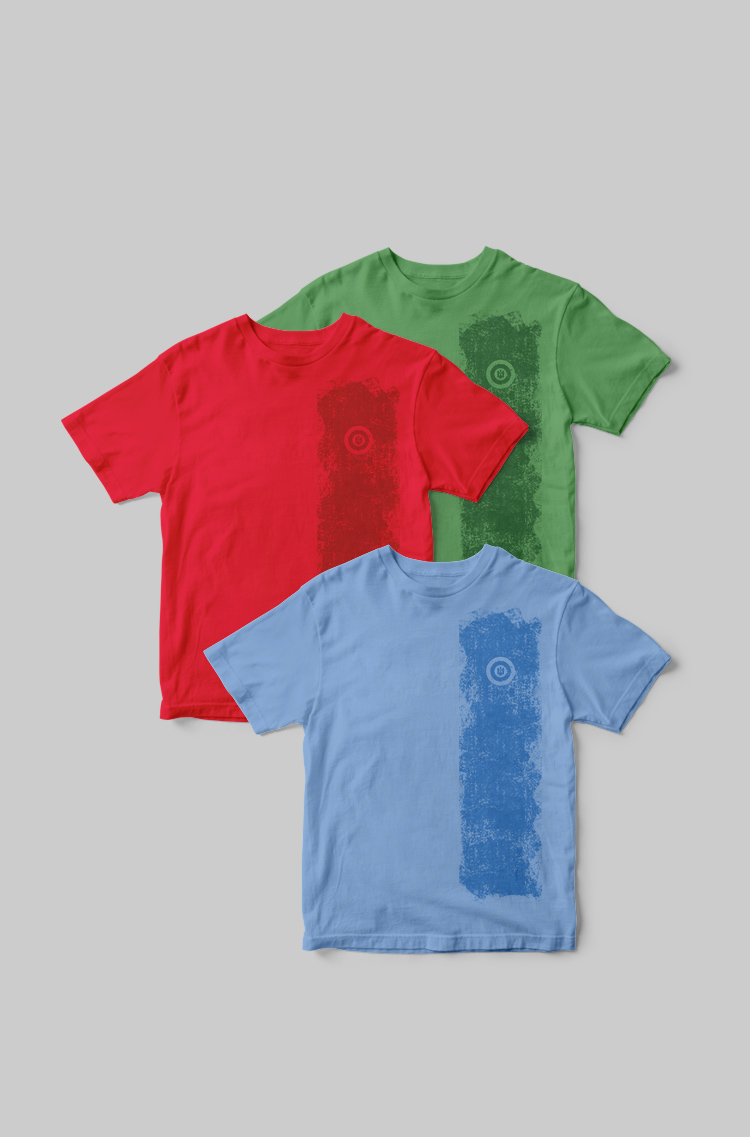 Basic Set Of Men'S T-Shirts Colors Burst. Color green. Basic T-shirts separately you can purchase here  Material: 95% cotton, 5% spandex.
