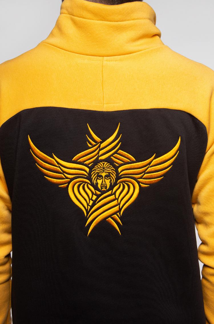 Men's Sweatshirt Serafym. Color yellow.  .