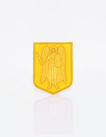 Stripe Archangel. Color yellow. Archangel Michael is a symbol of good forces protecting from evil and devilry.