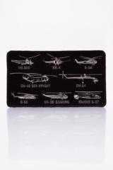 Нашивка Гелікоптери Сікорського. Маємо тут шеврони з найкращими винаходами одного з кращих авіаторів світу — Ігоря Сікорського.
