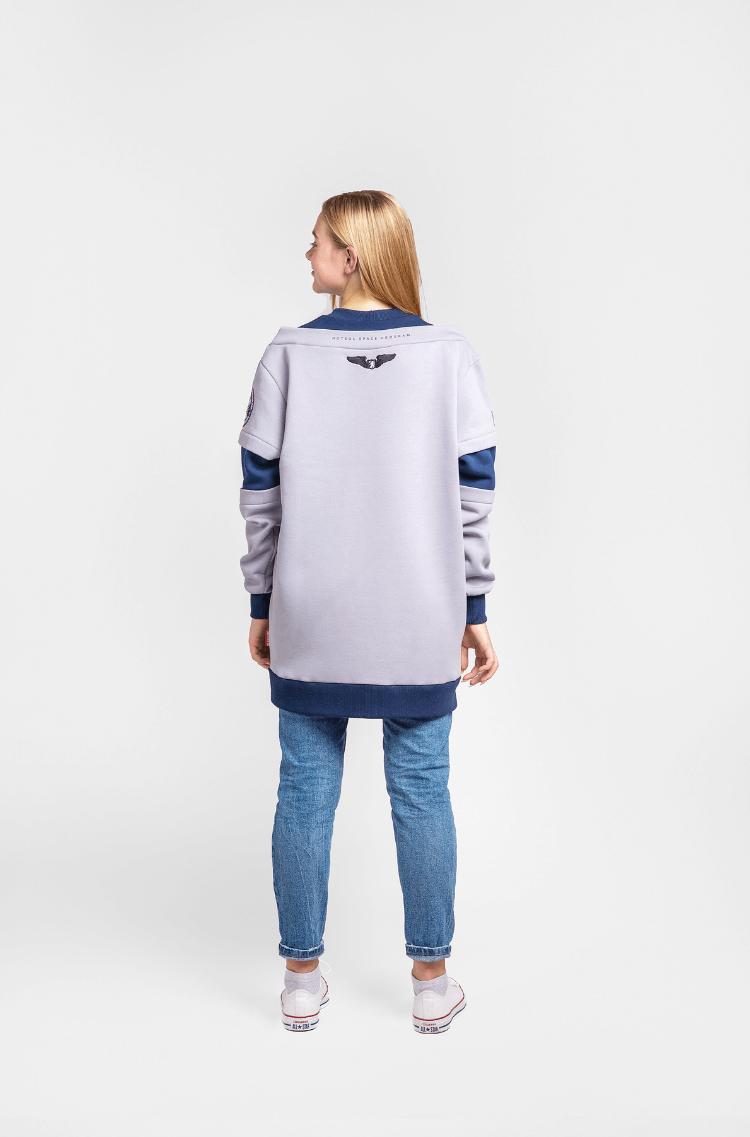 Women's Sweatshirt Wjo Na Mars. Color gray. 4.