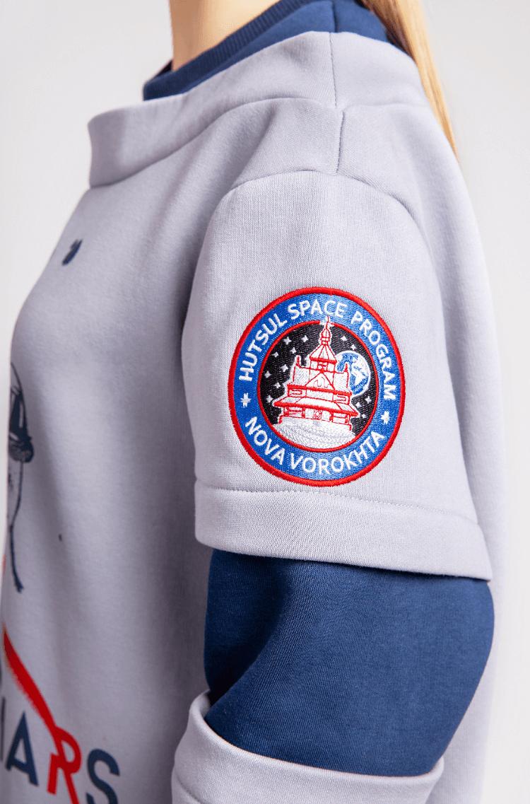 Women's Sweatshirt Wjo Na Mars. Color gray. 5.