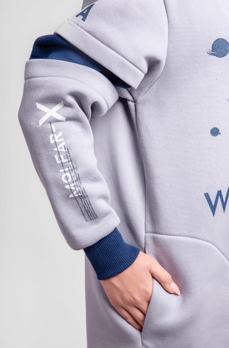 Women's Sweatshirt Wjo Na Mars. Color gray. 6.