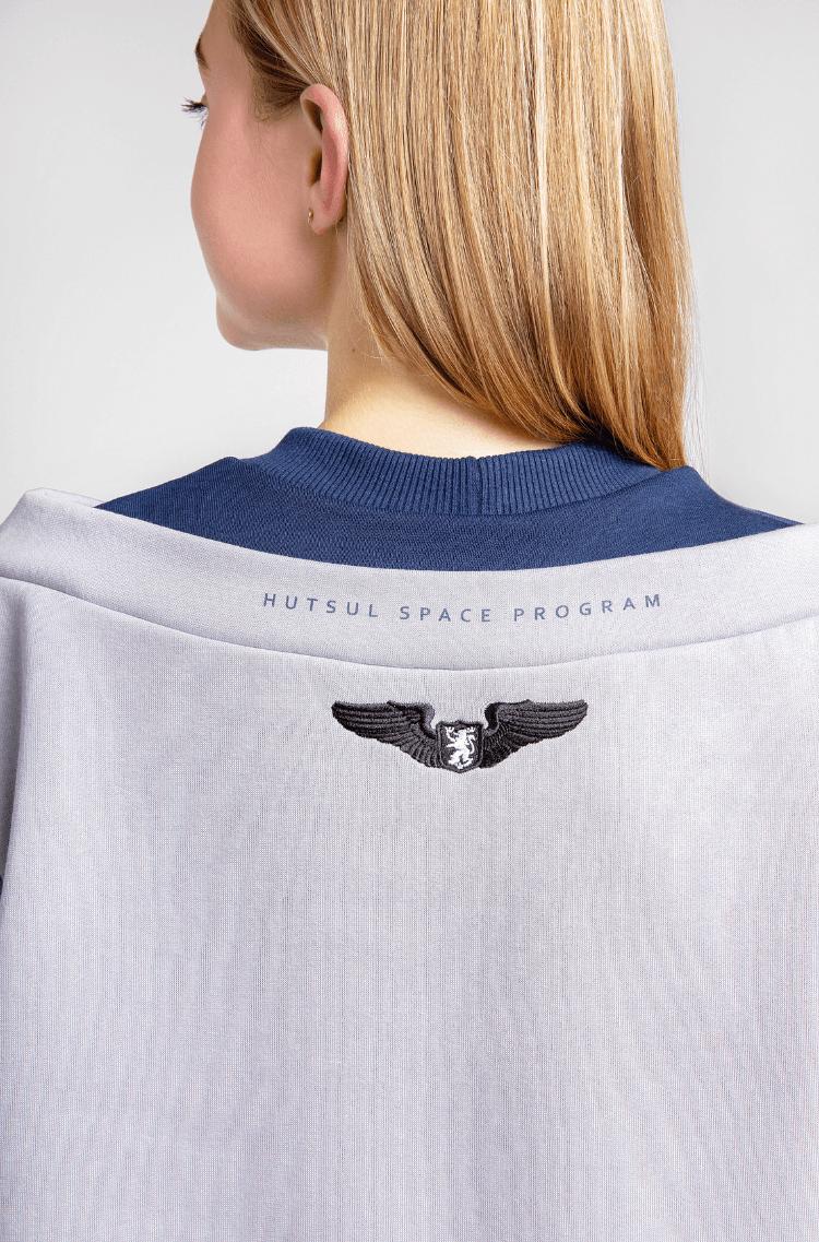 Women's Sweatshirt Wjo Na Mars. Color gray. 8.