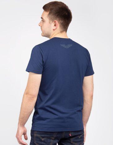 Men's T-Shirt An. The Greatest Hits. Color navy blue. T-shirt celebrates 75th anniversary of Antonov company.