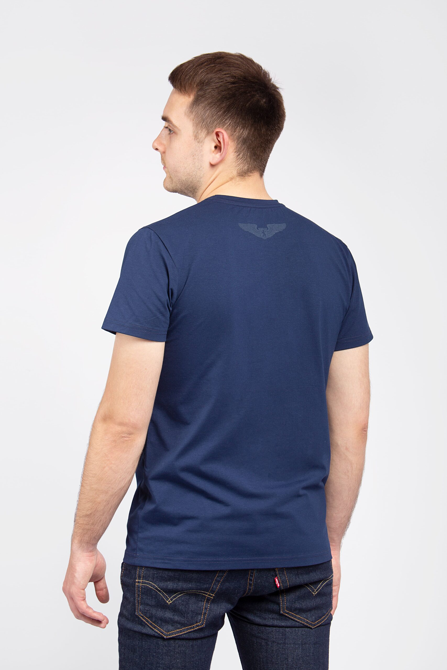 Men's T-Shirt An. The Greatest Hits. Color navy blue. 06.