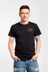 Men's T-Shirt From Ukraine With Love. T-shirt celebrates 75th anniversary of Antonov company.