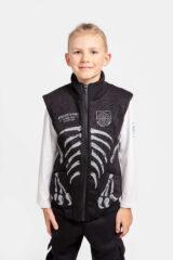 Kids Sleeveless Jacket Archaeopatrik. Unisex sleeveless jacket.