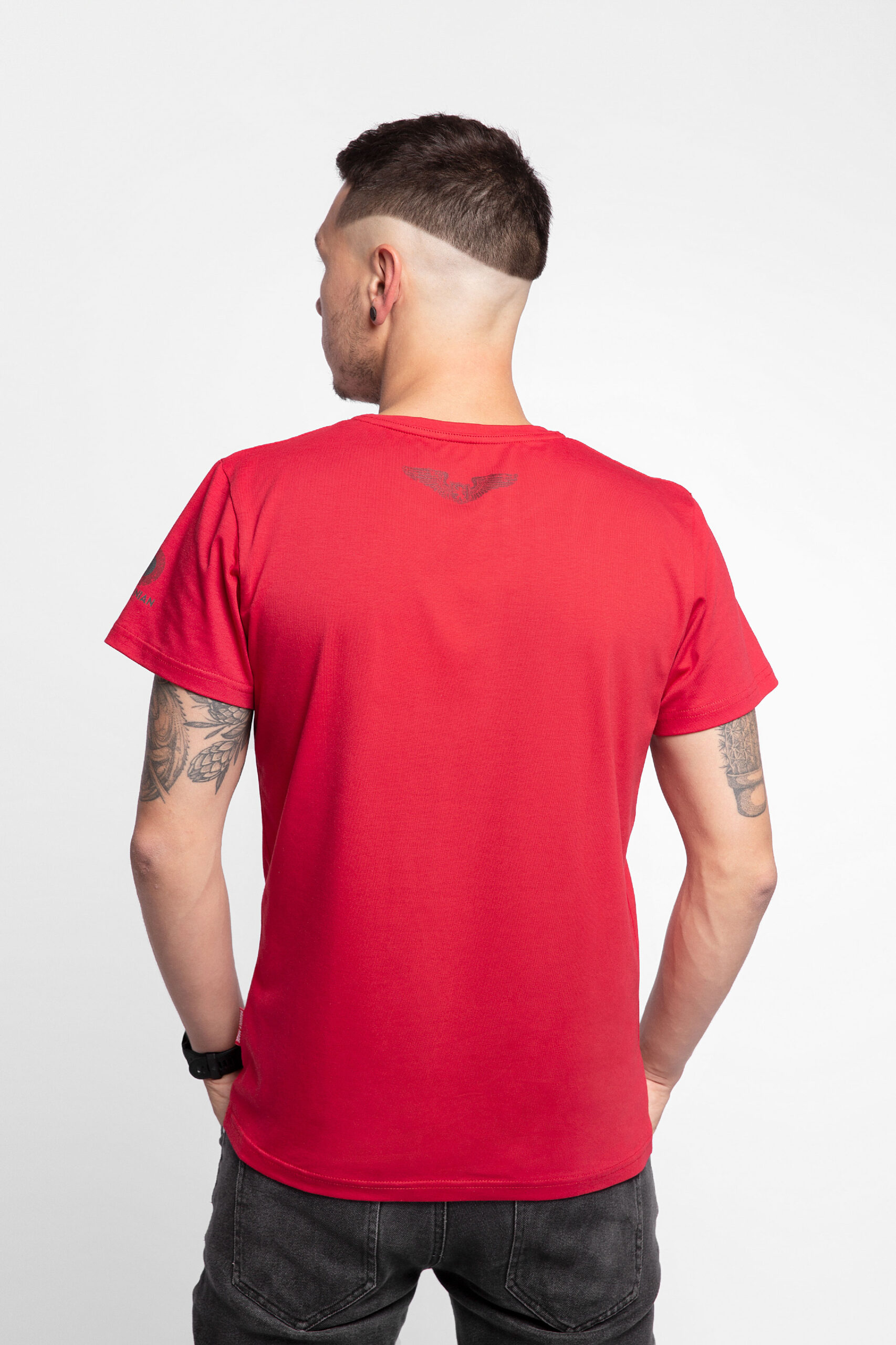 Men'S T-Shirt The Fire Of Fiery 2.0. Color red. 08.