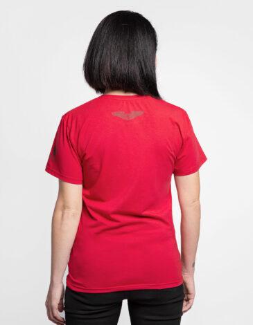 Women's T-Shirt Fire Of Fiery 2.0. Color red. Unisex T-shirt (men's sizes).