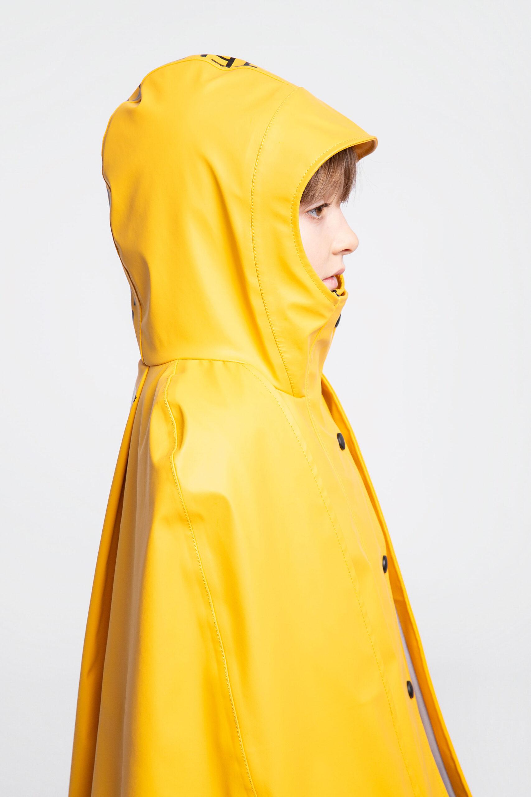Дитячий Дощовик-Пончо Гідроплан. Колір жовтий. 7.