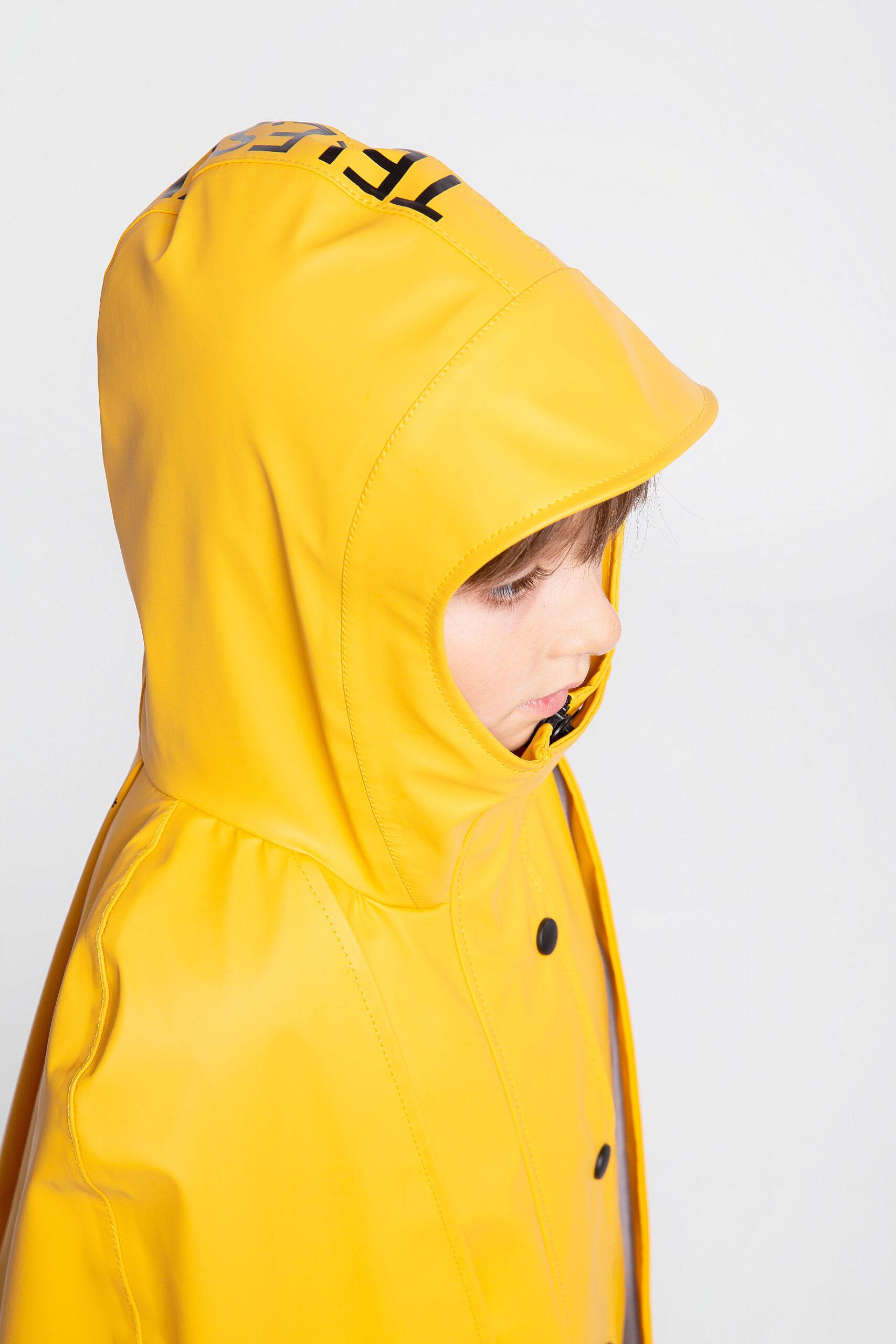 Дитячий Дощовик-Пончо Гідроплан. Колір жовтий. 8.