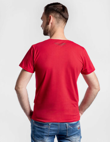 Men'S T-Shirt The Fire Of Fiery 2.0. Color red. PRESALE! The T-Shirt will fly to you from 2.