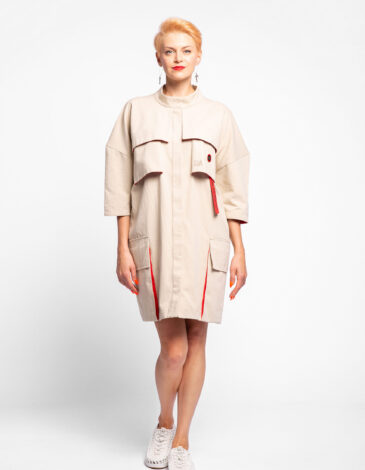 Dress-Coat Avia. Color бежевий. The shipments will start on 11.